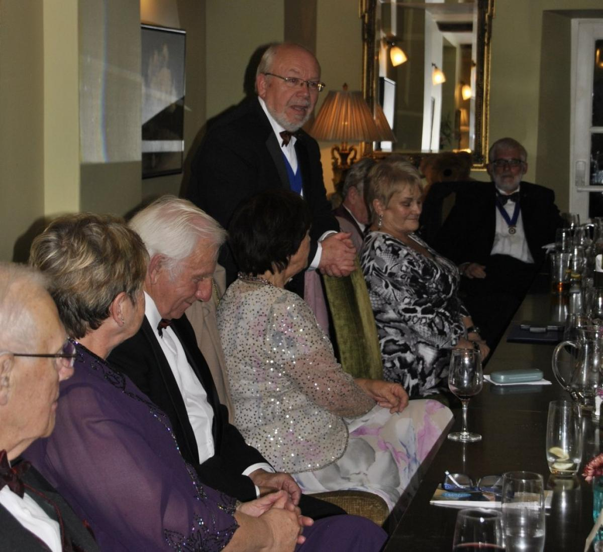 Presidents Night at the Lion in Leintwardine - JOkes from Norman