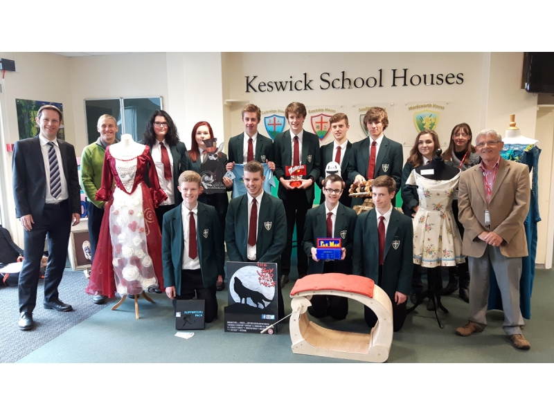 ABOUT Rotary Keswick - Competition winners from Keswick School