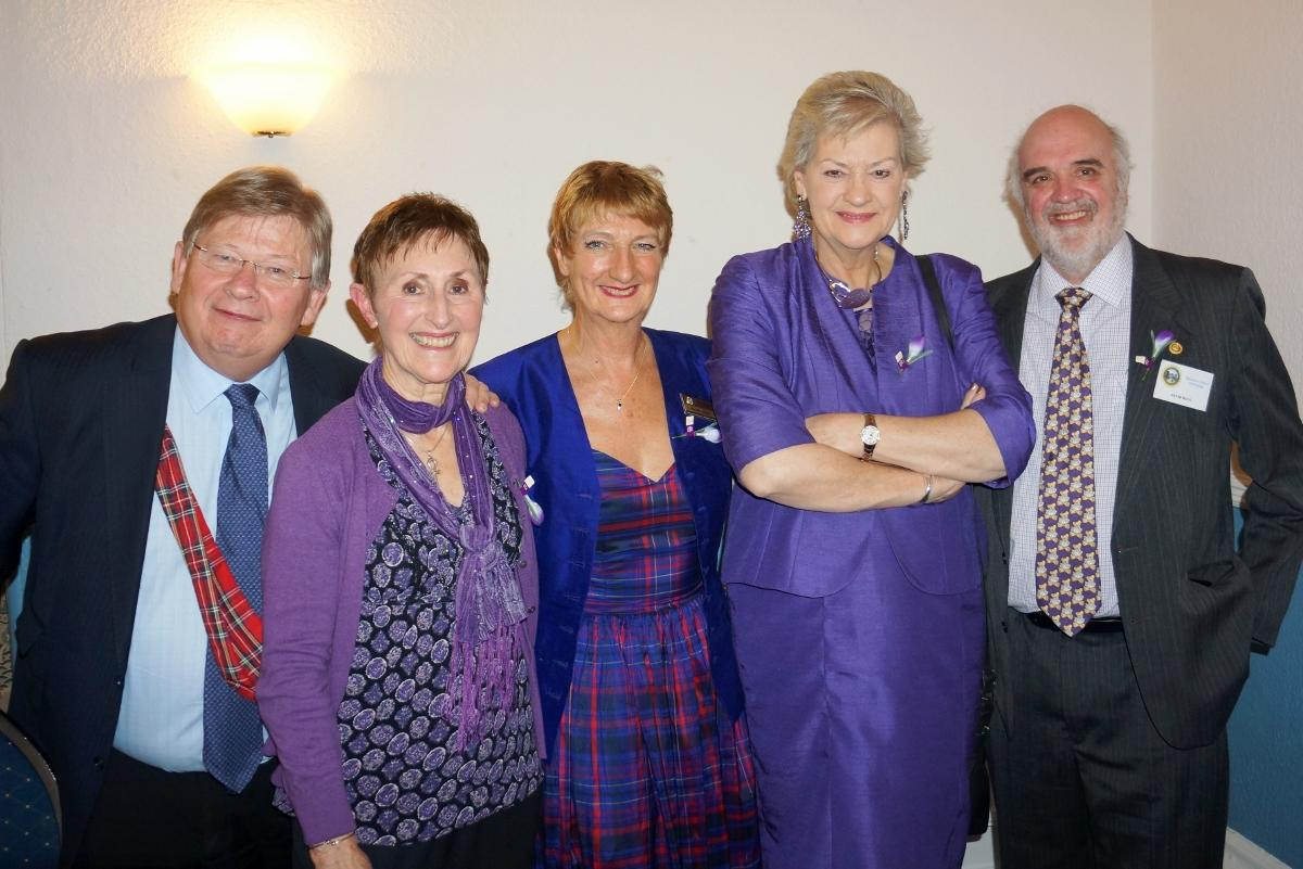 Burns Night at Pinner Hill Golf Club - An enjoyable evening was had by all