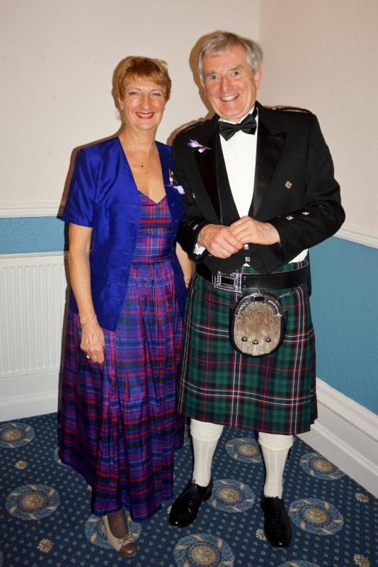 Burns Night at Pinner Hill Golf Club - Our only Scots!