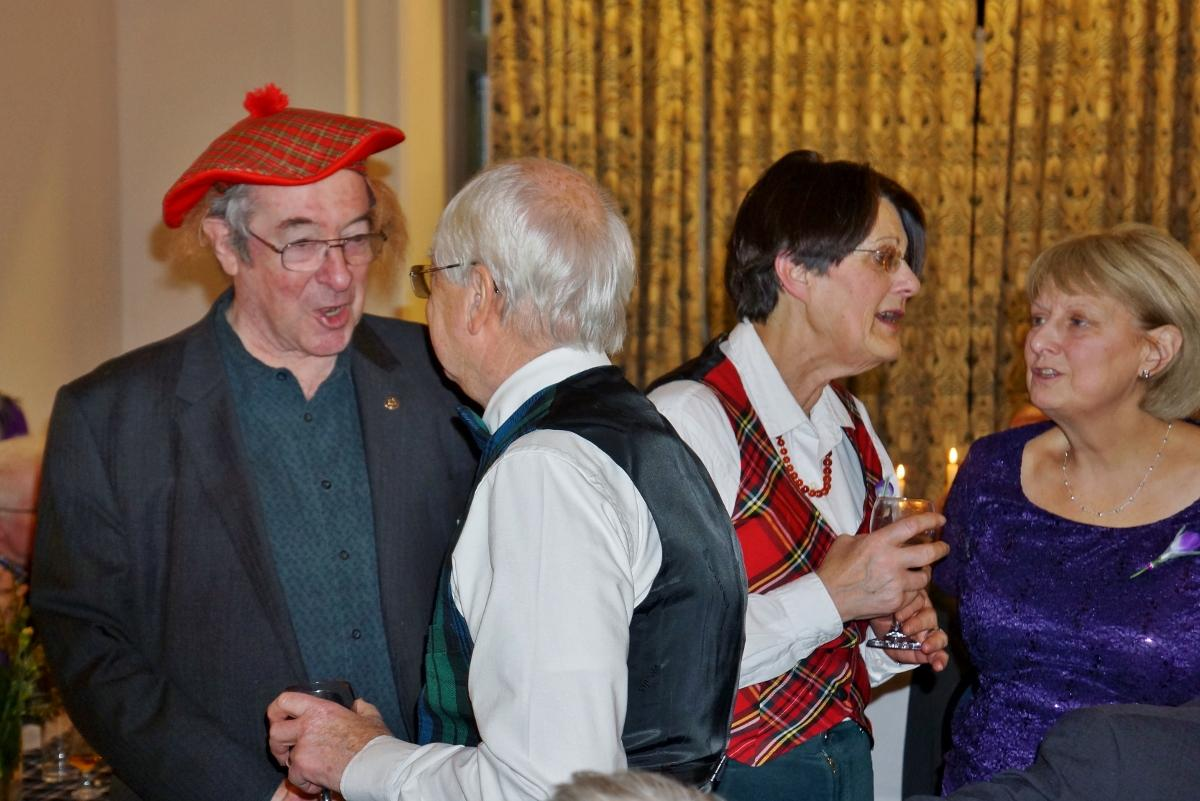 Burns Night at Pinner Hill Golf Club - All over for this year