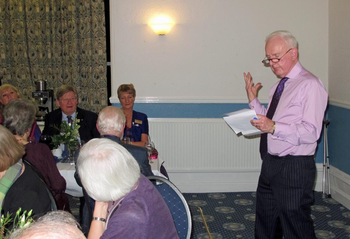 Burns Night at Pinner Hill Golf Club - David tells us more about the Purple for Polio campaign