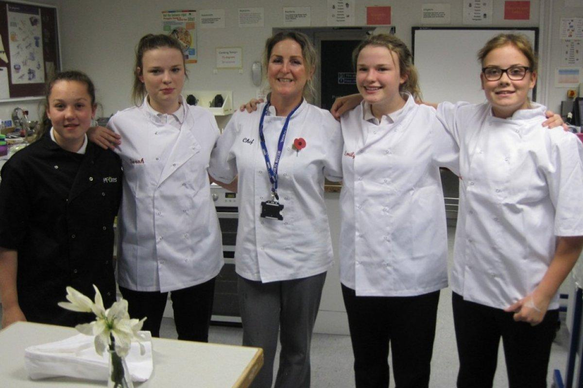 About Us - Millom Rotary organised the Young Chef's Competition at Millom School