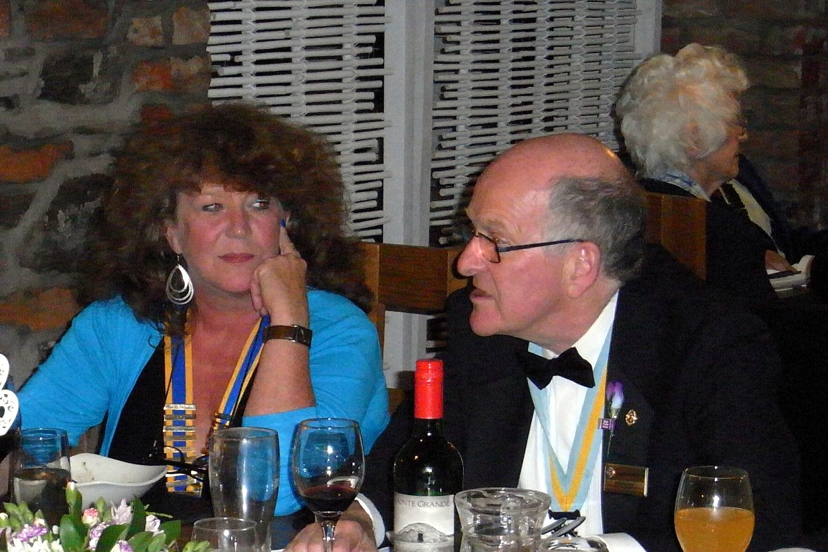 Millom Club Charter Dinner 2017 - Is Dick joining Inner Wheel ?