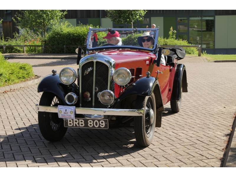 10th Dursley Rotary Classic and Sports Car Cotswold Tour - 1935 Austen 10