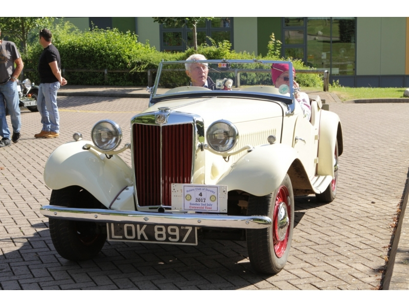 10th Dursley Rotary Classic and Sports Car Cotswold Tour - 1951 MG TD