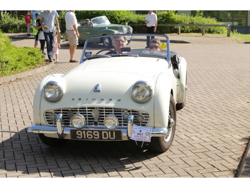 10th Dursley Rotary Classic and Sports Car Cotswold Tour - 1961 Triumph TR3A