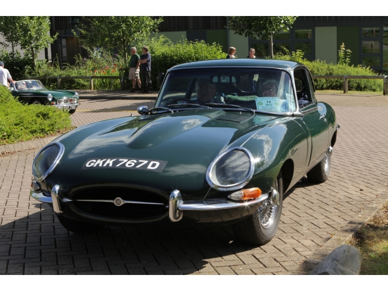 10th Dursley Rotary Classic and Sports Car Cotswold Tour - 1966 Jaguar E Type