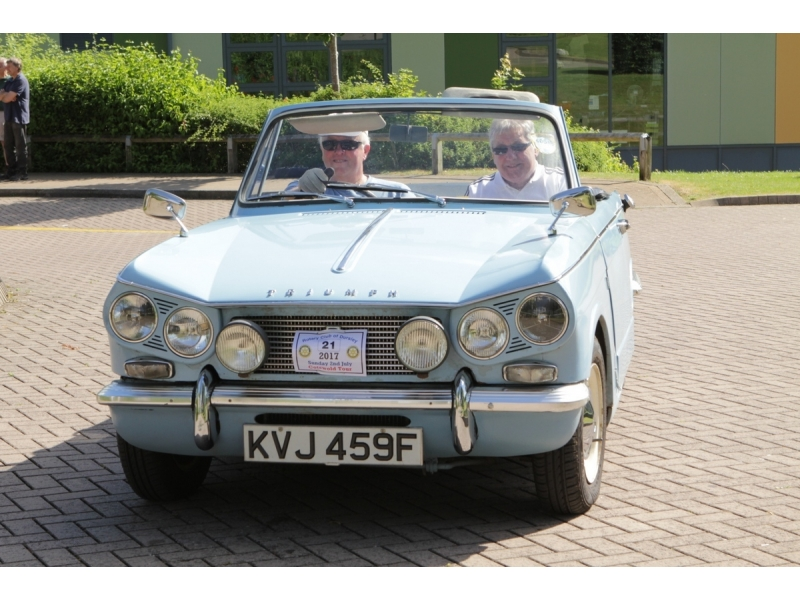 10th Dursley Rotary Classic and Sports Car Cotswold Tour - 1967 Triumph Vitesse