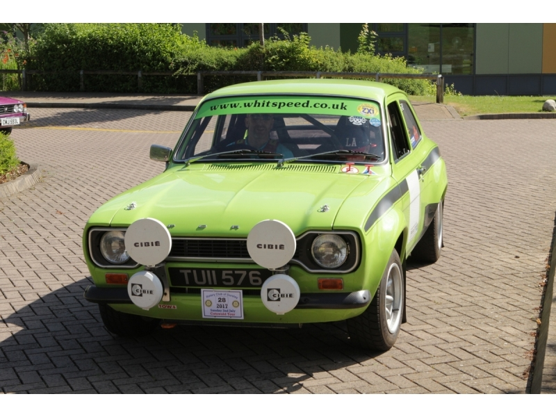 10th Dursley Rotary Classic and Sports Car Cotswold Tour - Ford Escort