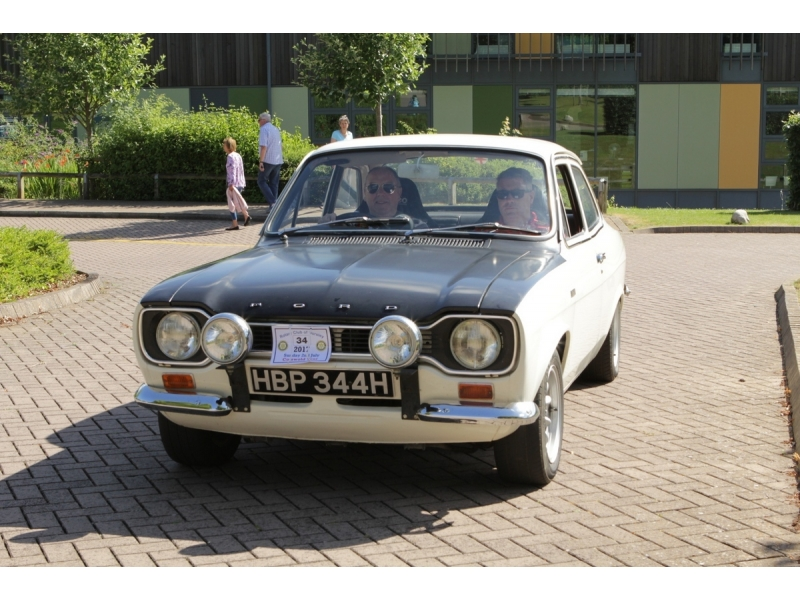 10th Dursley Rotary Classic and Sports Car Cotswold Tour - 1970 Ford Escort Mk1