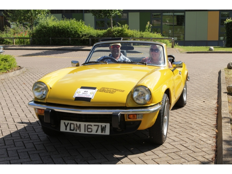 10th Dursley Rotary Classic and Sports Car Cotswold Tour - 1981 triumph Spitfire 1500