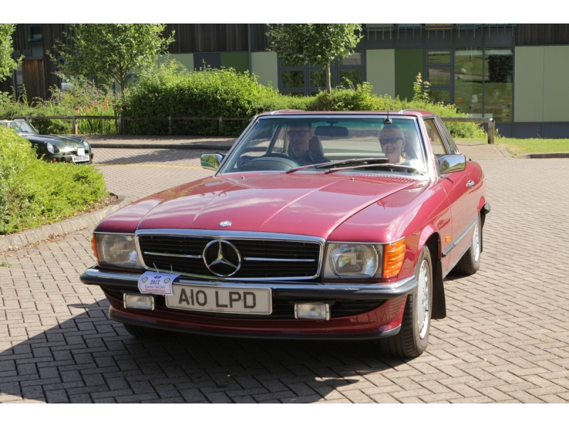 10th Dursley Rotary Classic and Sports Car Cotswold Tour - 1989 Mercedes 300SL Auto