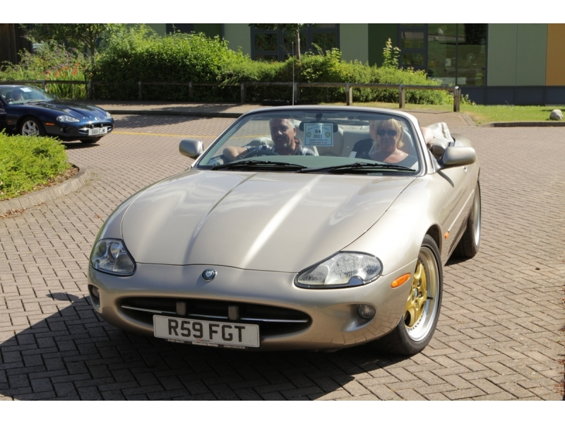 10th Dursley Rotary Classic and Sports Car Cotswold Tour - 1998 Jaguar XK8