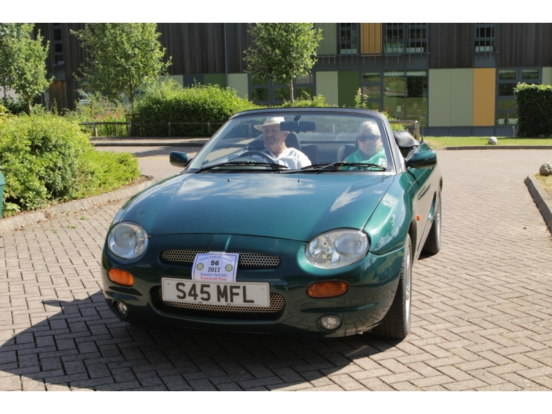10th Dursley Rotary Classic and Sports Car Cotswold Tour - 1998 MG F