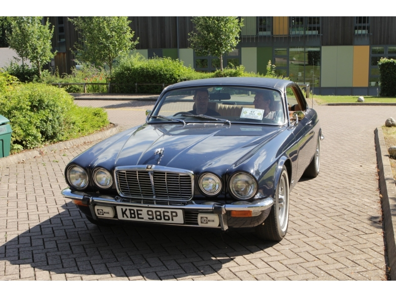 10th Dursley Rotary Classic and Sports Car Cotswold Tour - 1876 Jaguar XJ6