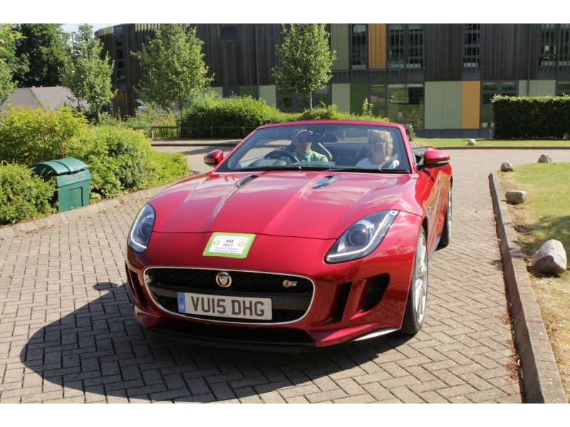10th Dursley Rotary Classic and Sports Car Cotswold Tour - 2015 Jaguar F Type