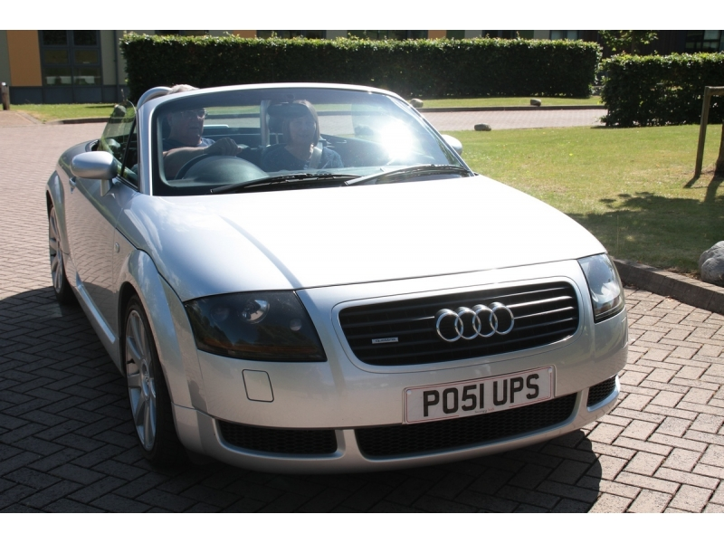 10th Dursley Rotary Classic and Sports Car Cotswold Tour - 2001 Audi TT Roadster