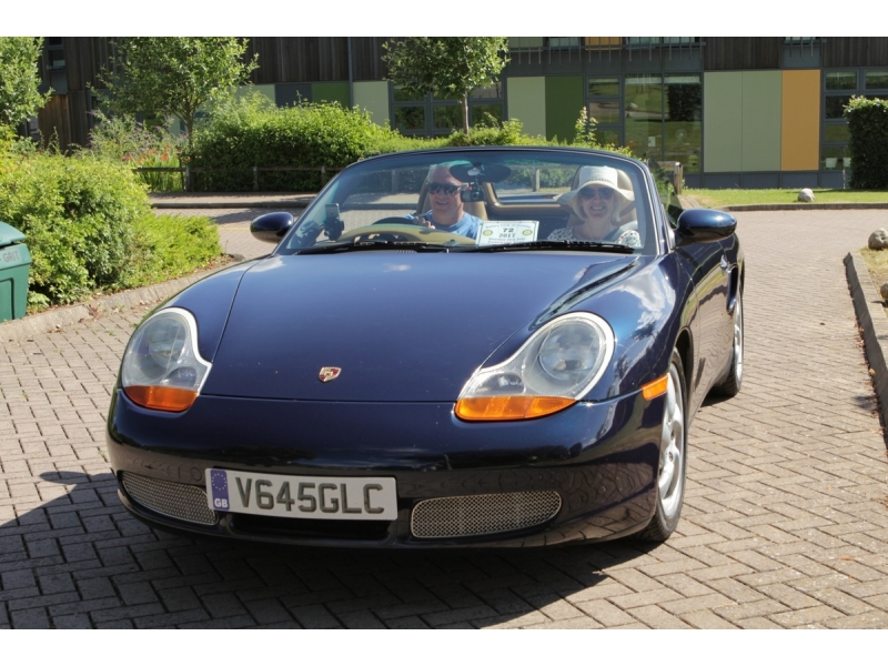 10th Dursley Rotary Classic and Sports Car Cotswold Tour - 1999 Porche Boxster