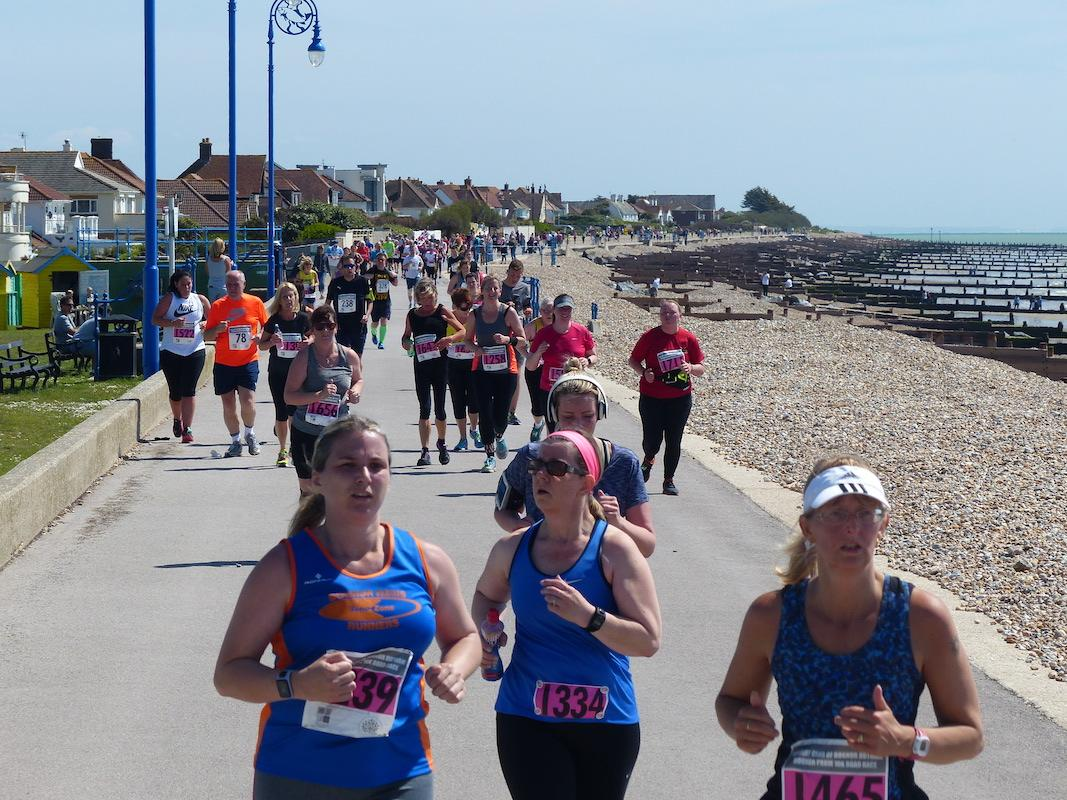 BOGNOR PROM 10 K ROAD RACE AND JUNIOR FUN RUN -