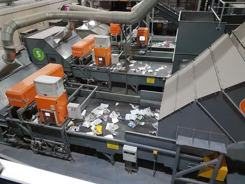 Visit to Gilmoss waste recycling centre -