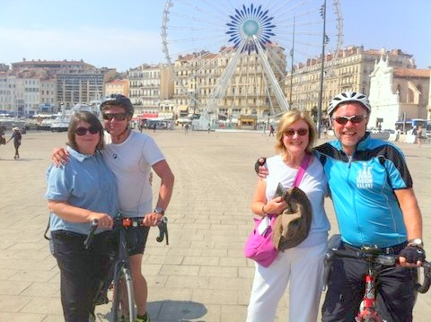 African Vision Malawi - The intrepid riders are met in Marseilles by their  partners