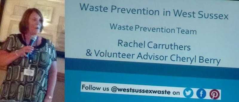 2017/18 Speakers at M&P - Rachel Carruthers talks about Waste Prevention in West Sussex