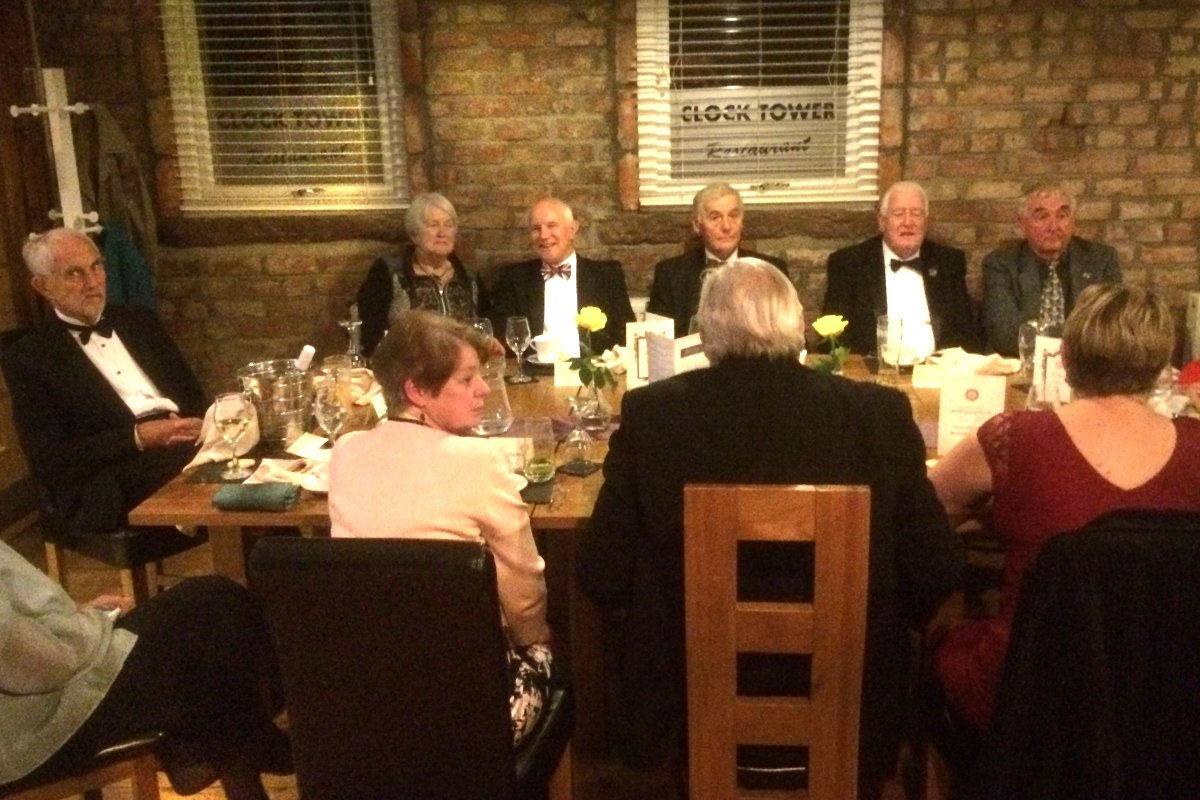Millom Club Charter Dinner 2018 - Why is David the only one laughing?