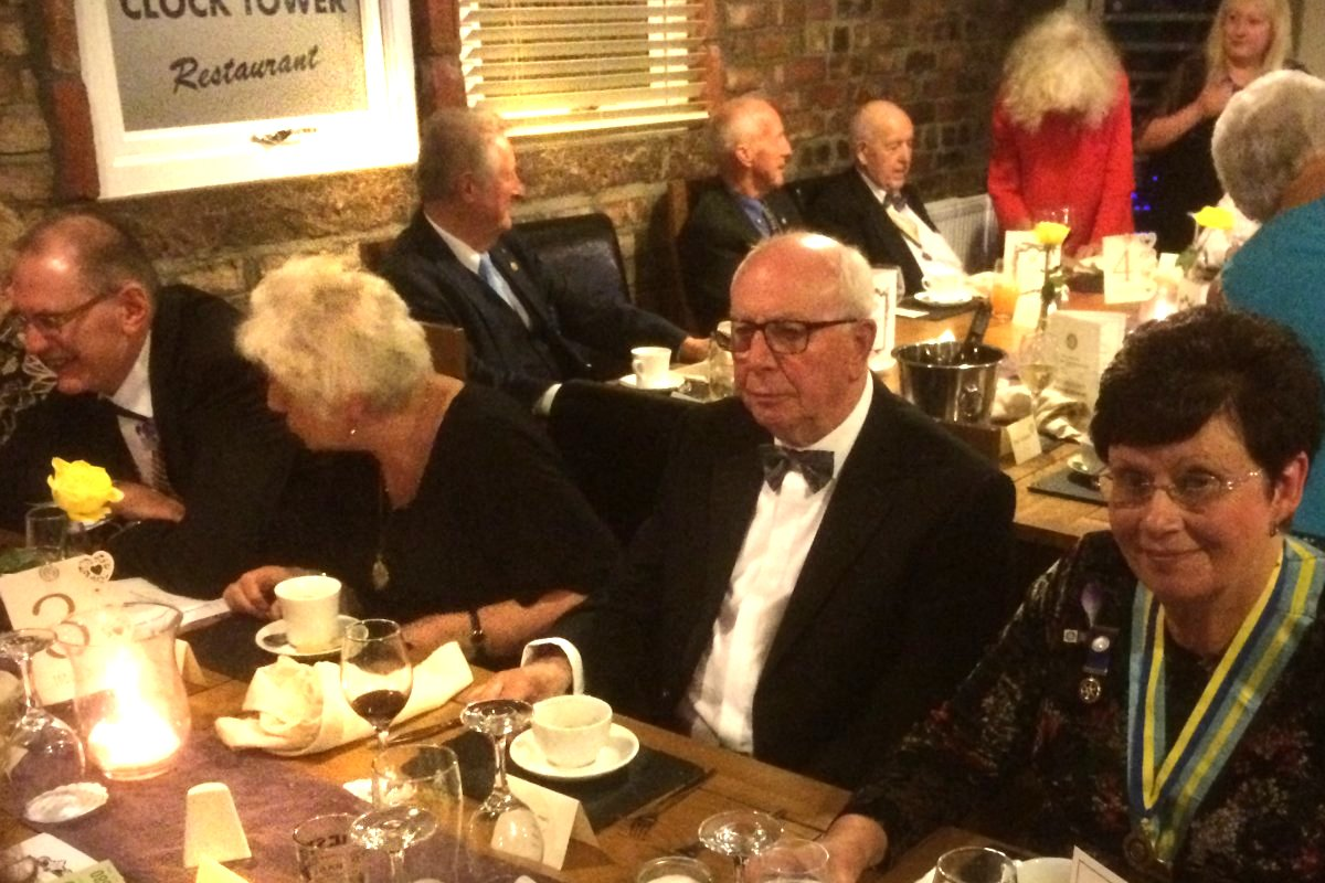 Millom Club Charter Dinner 2018 - Watch the birdie