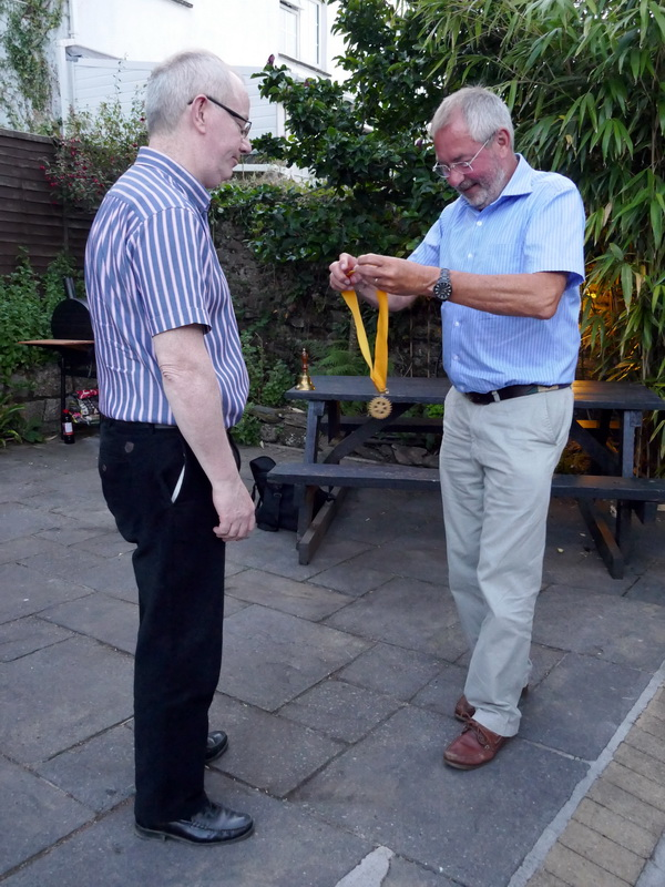 Club Handover - Denis Mitchell, now the hard work starts!