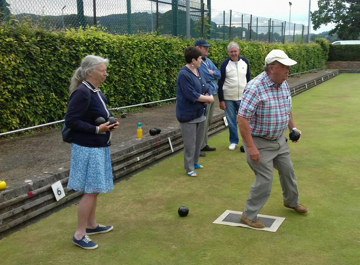 Bowls Evening, Guilsfield - Followed by meal at Kings Head - Bowls Evening, June 2018