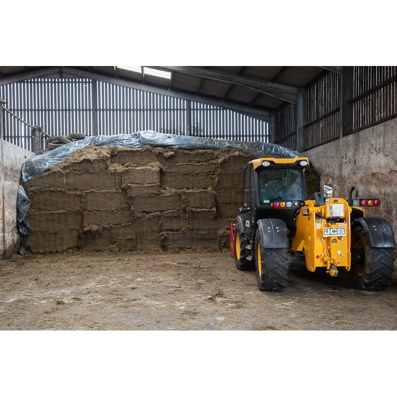 Farm Visit - Martyn's silage - amongst the UK's very best