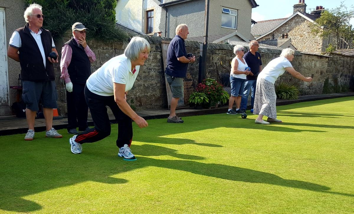 Rotary Bowling at Waddington Club. -