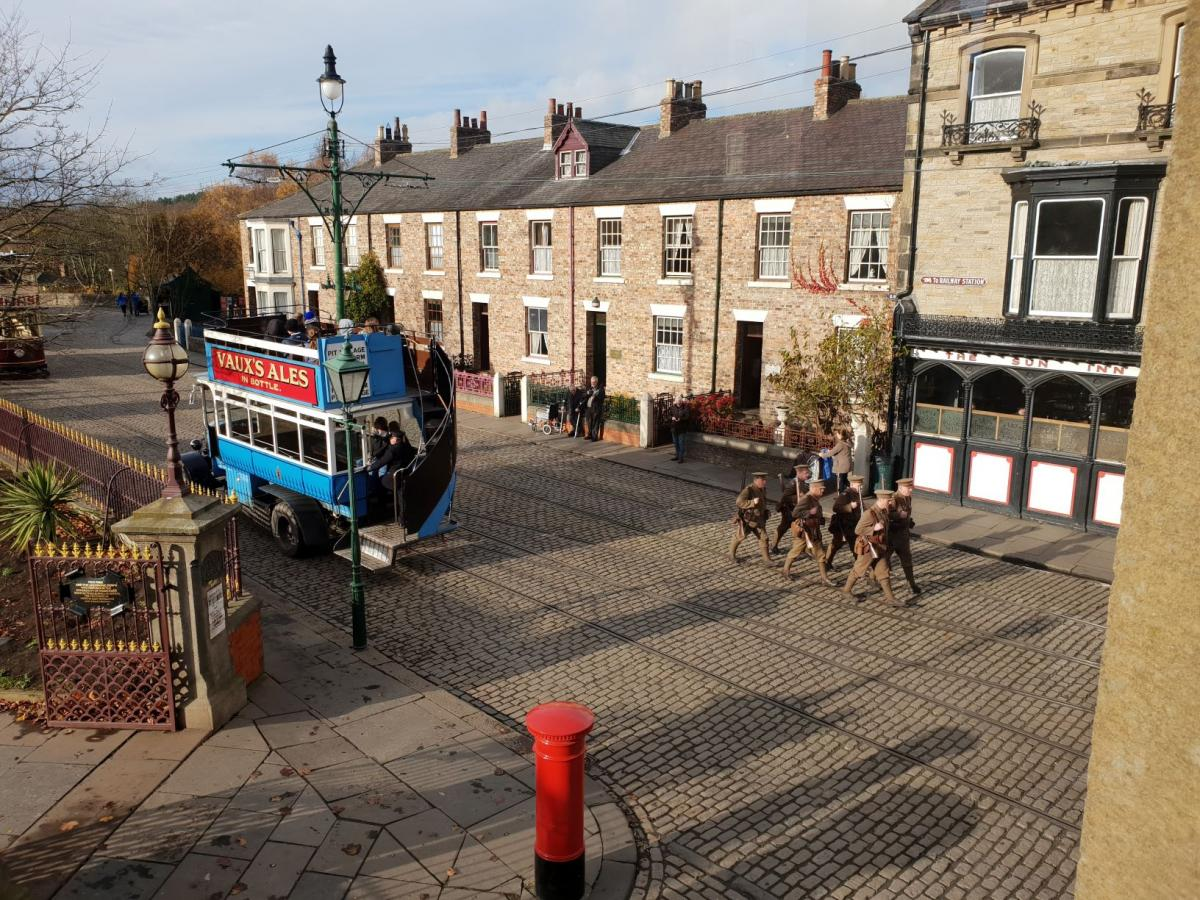 Social weekend at Beamish - November 2018 - A fitting way to mark Remembrance Day