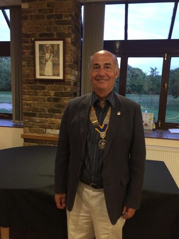 Annual Putting Evening - New President for 2019-2020 is Alper Ozturk