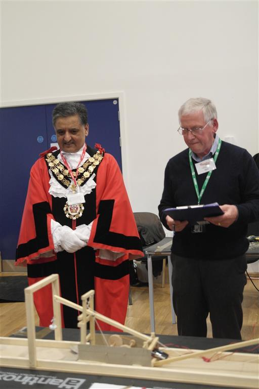 Technology Tournament led by Twickenham Rotary Club  - The Mayor with Judge Pete Canning