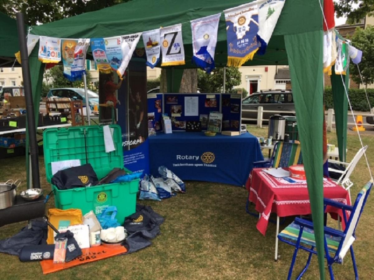 TuT at Hands Fair  - Our PR Stand displayed examples of the kind of projects we support around the world and listed some of the Charities we have donated to, both locally and further afield.