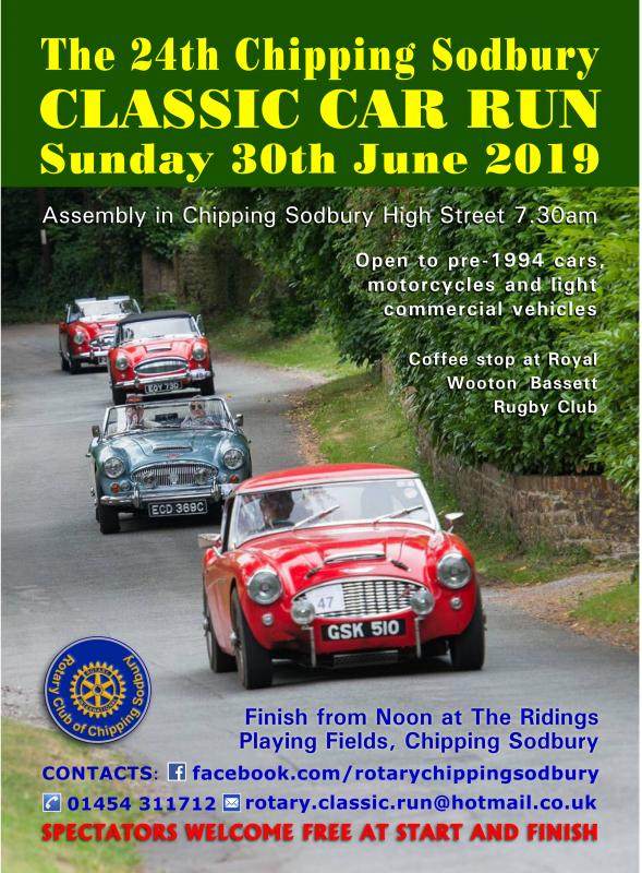 Sodbury Classic Car Run -