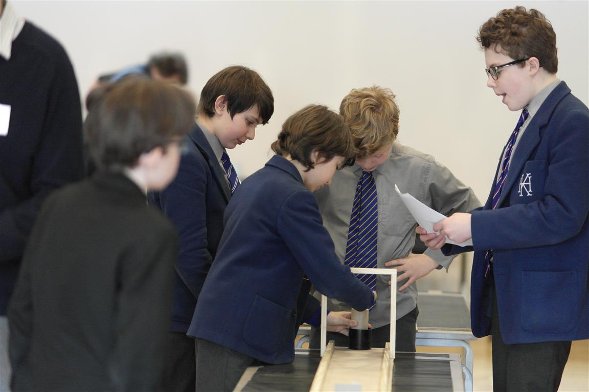 Technology Tournament led by Twickenham Rotary Club  - Testing construction