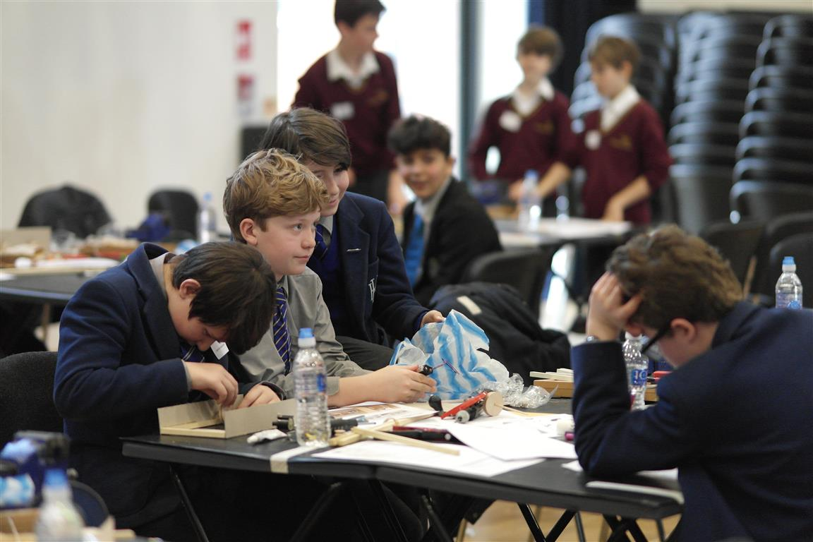 Technology Tournament led by Twickenham Rotary Club  - Problem solving