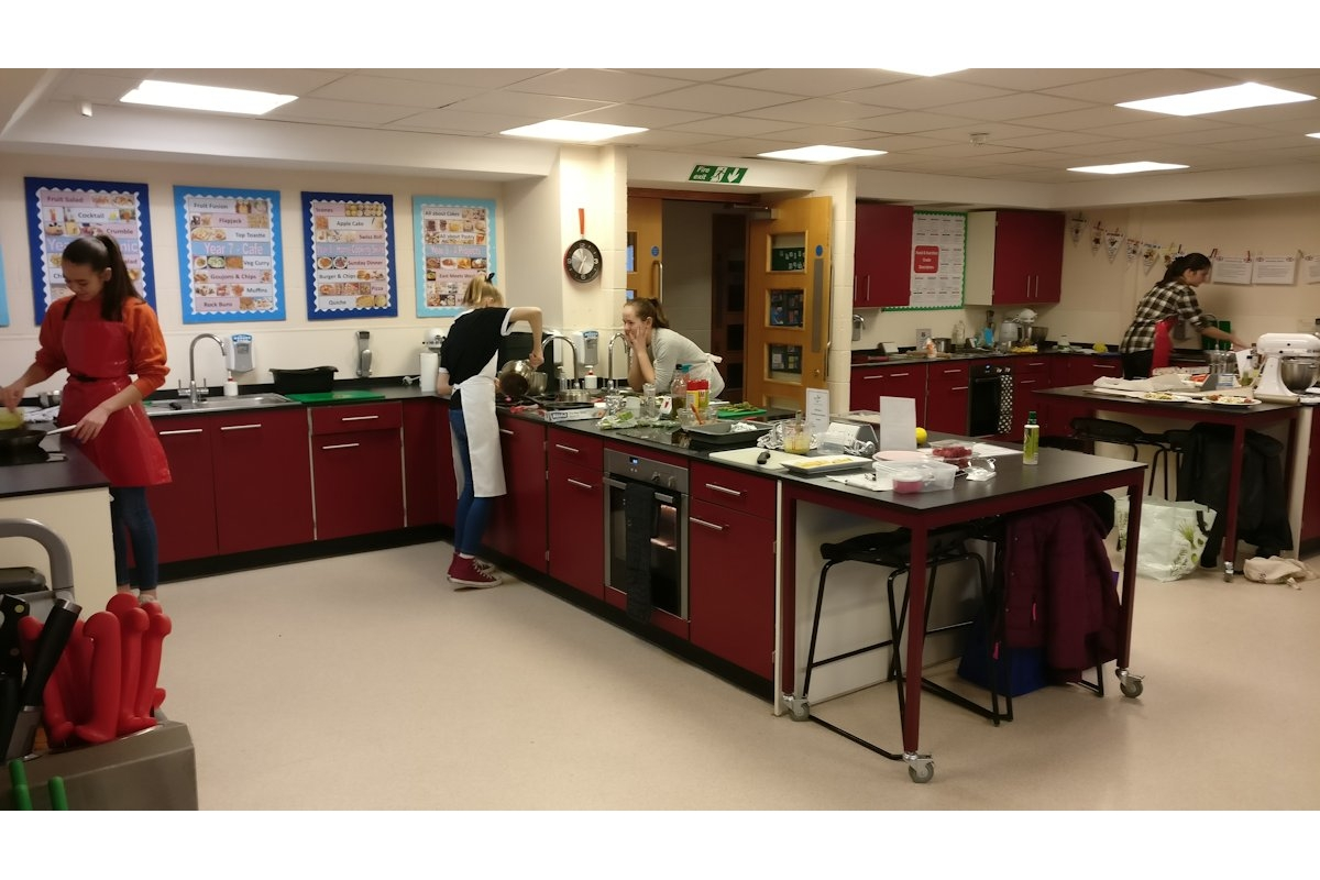 Chesham Rotary at Young Chef Competition - 2019-01-12 11