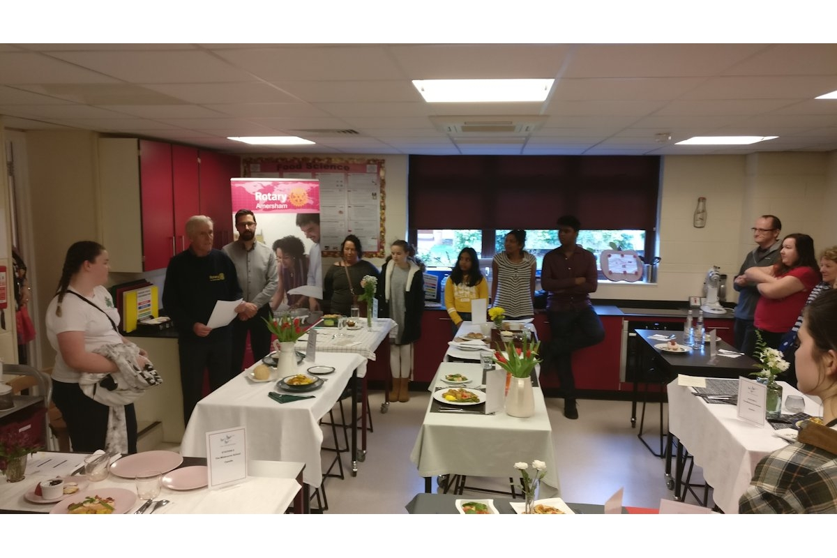 Chesham Rotary at Young Chef Competition - 2019-01-12 12