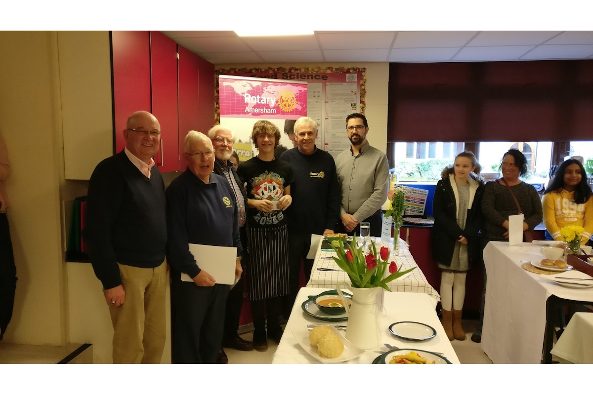 2019 Jan - Chesham Rotary at Young Chef Competition - 2019-01-12 12