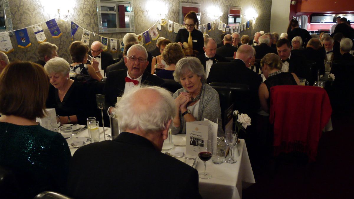 RC of Lostwithiel's 40th Anniversary Charter Dinner - 2019-02-09 - Lostwithiel 40th Charter Dinner (02)