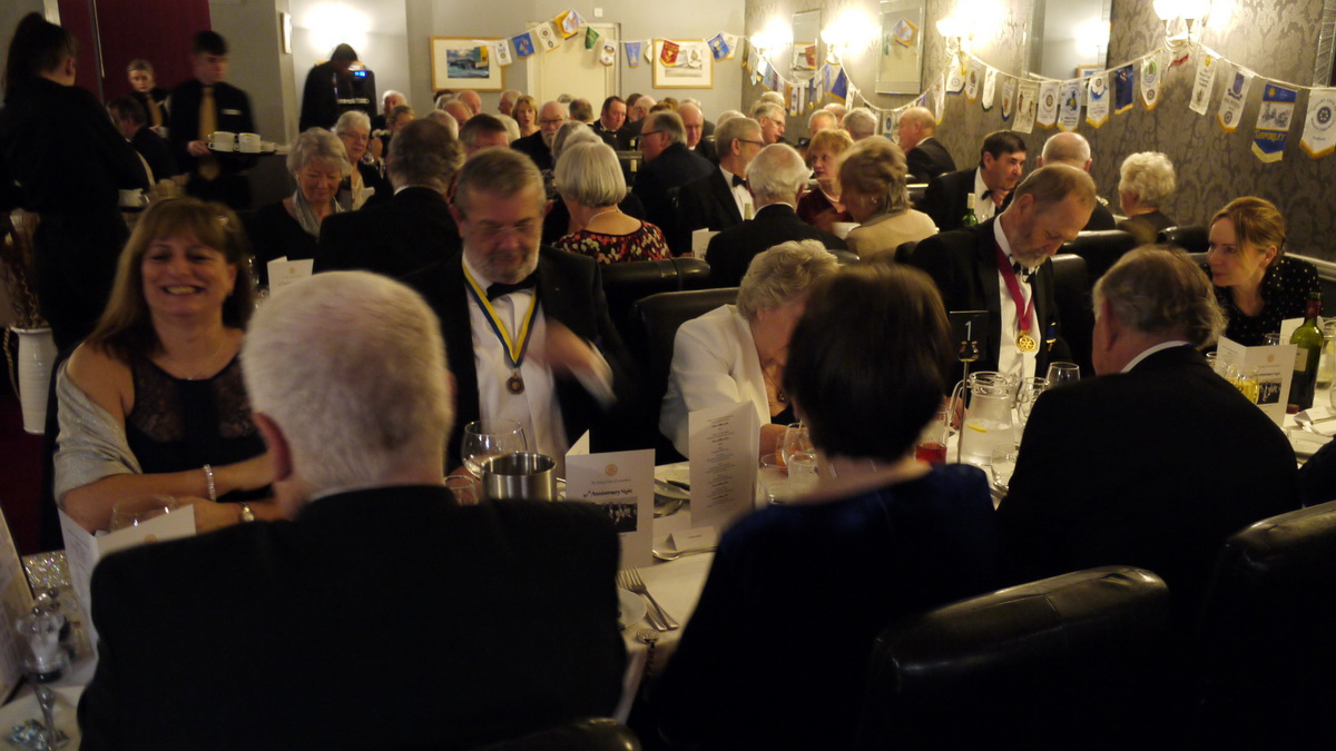 RC of Lostwithiel's 40th Anniversary Charter Dinner - 2019-02-09 - Lostwithiel 40th Charter Dinner (18)