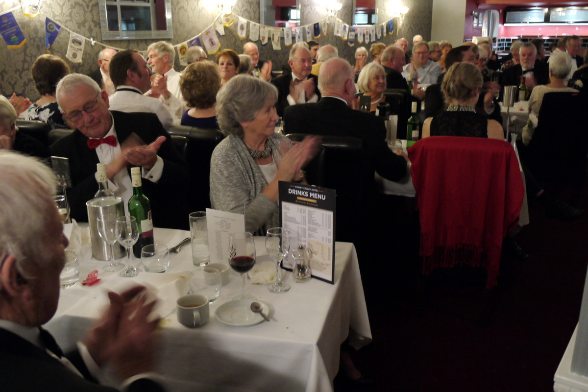 RC of Lostwithiel's 40th Anniversary Charter Dinner - 2019-02-09 - Lostwithiel 40th Charter Dinner (35)