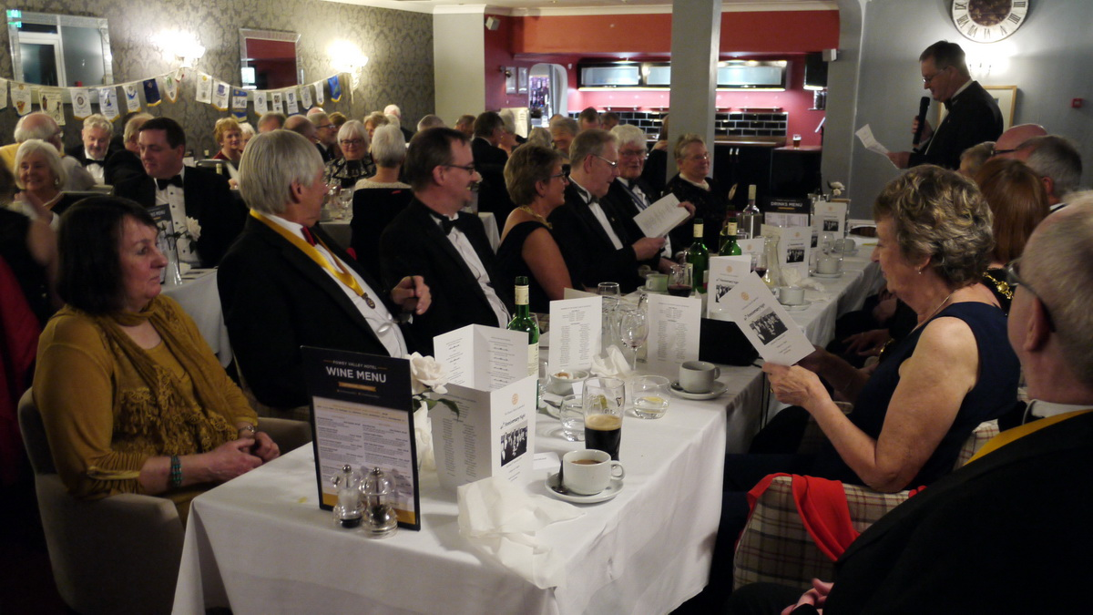RC of Lostwithiel's 40th Anniversary Charter Dinner - 2019-02-09 - Lostwithiel 40th Charter Dinner (36)