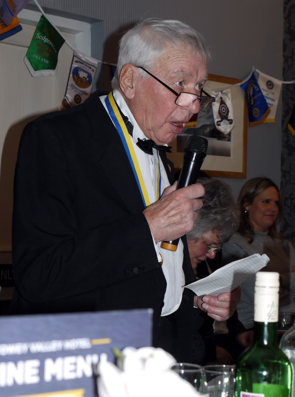 RC of Lostwithiel's 40th Anniversary Charter Dinner - 2019-02-09 - Lostwithiel 40th Charter Dinner (39)