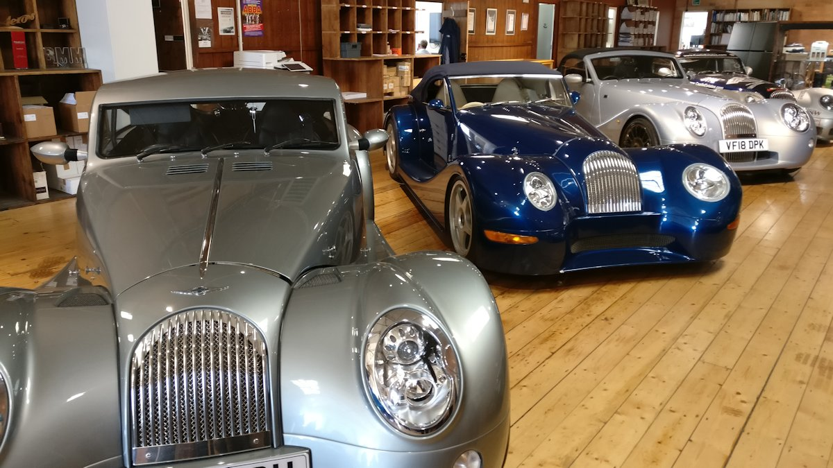 Morgan Car Factory Visit - 2019-03-28 13