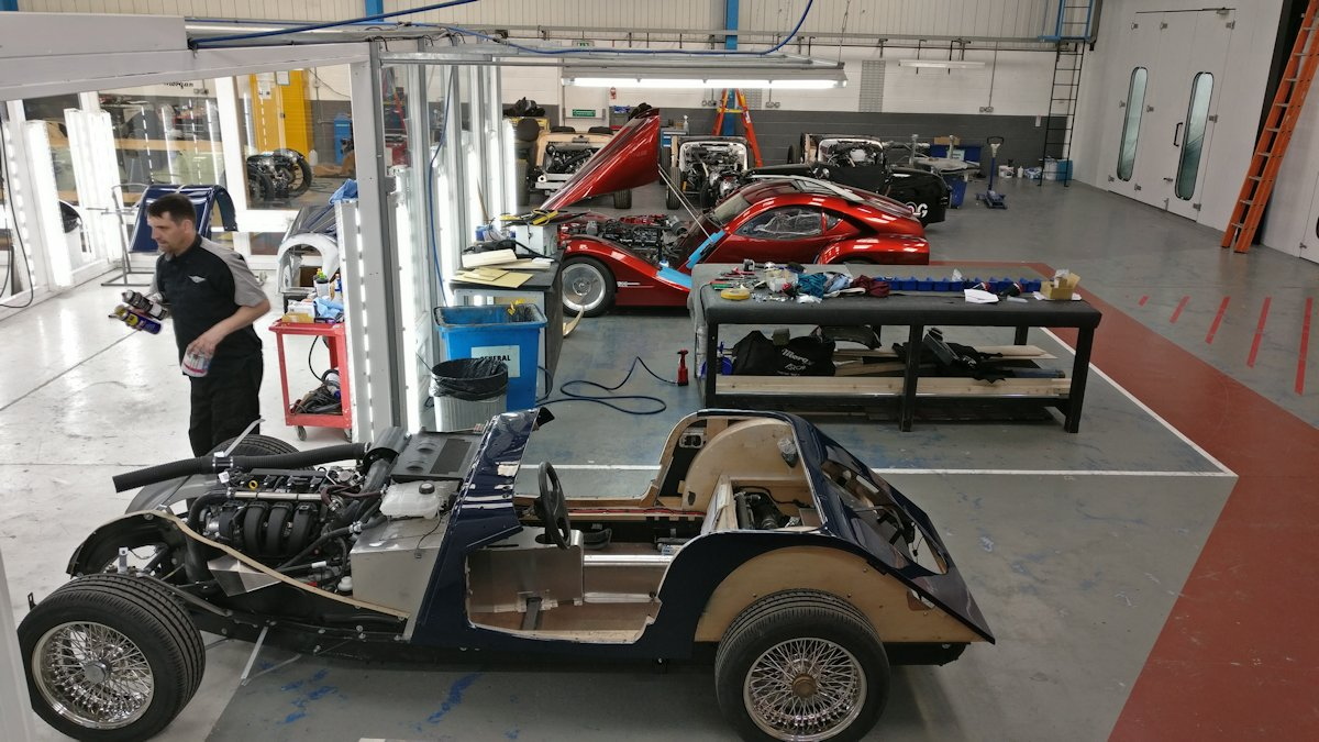 Morgan Car Factory Visit - 2019-03-28 14